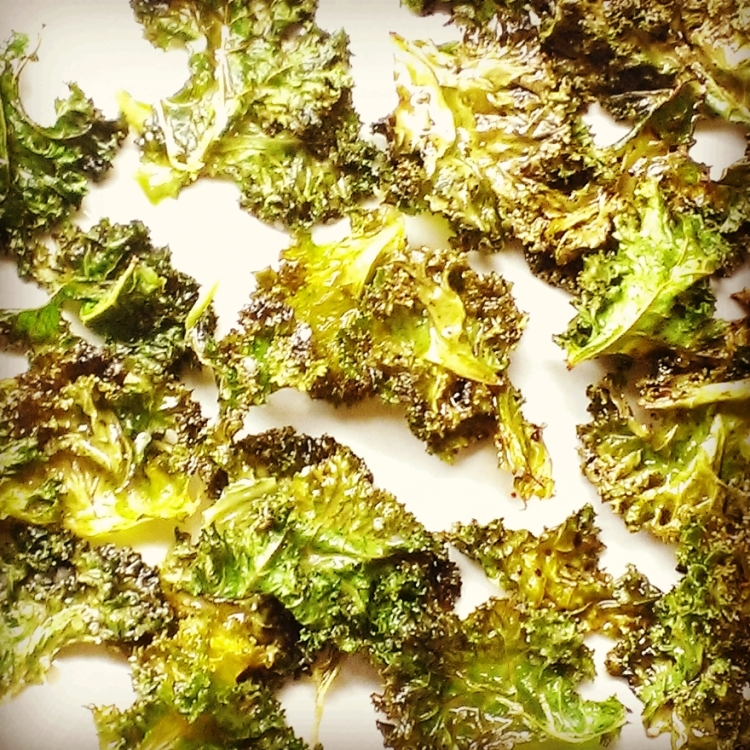Balsamic Vinegar Kale Chips