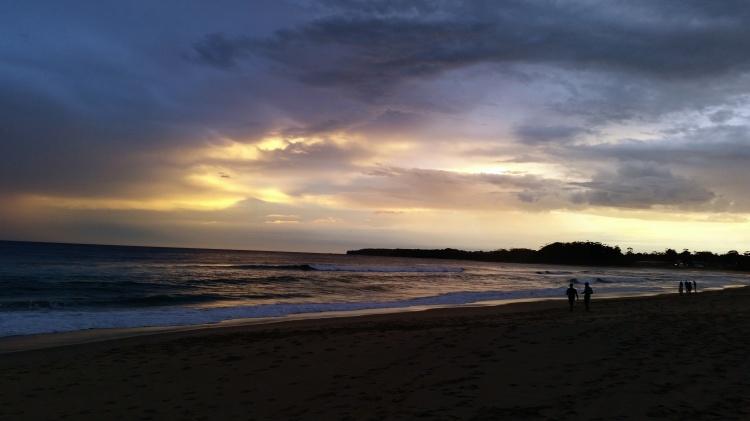 Mollymook Beach, Christmas Night.