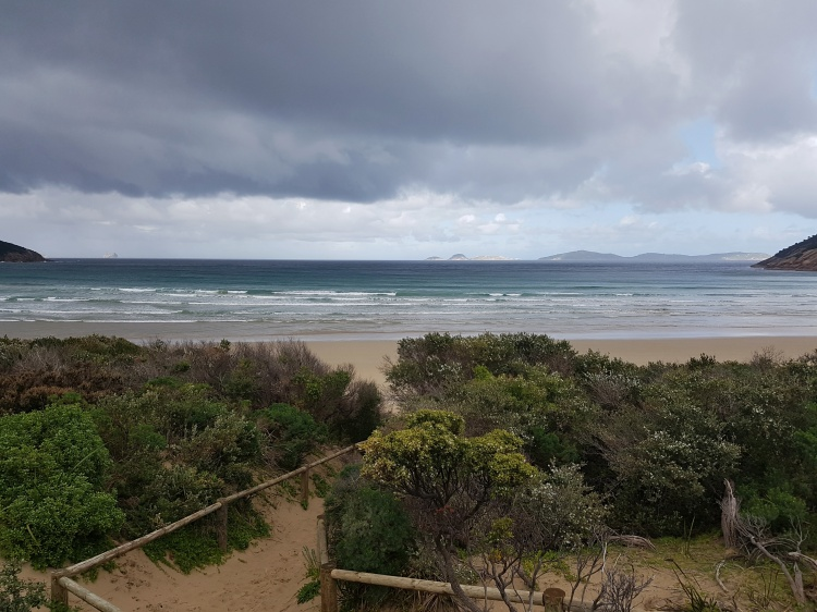 Over looking Bass Strait, Wilsons Promontory National Park, Victoria