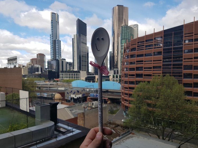 Mr Spoon takes on Melbourne!