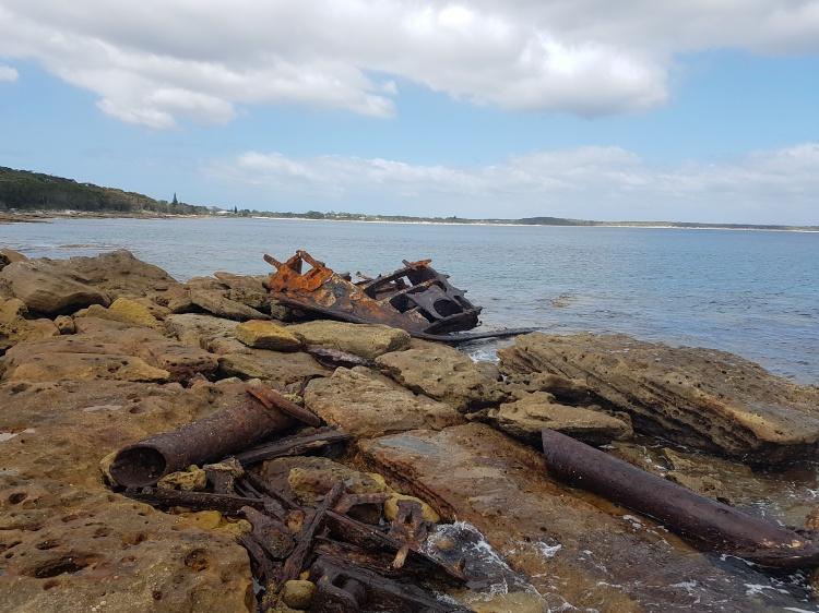 Merimbula wreck, Currarong.